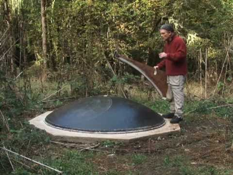 Parabolic Solar Cooker Ferrocement Mold Youtube