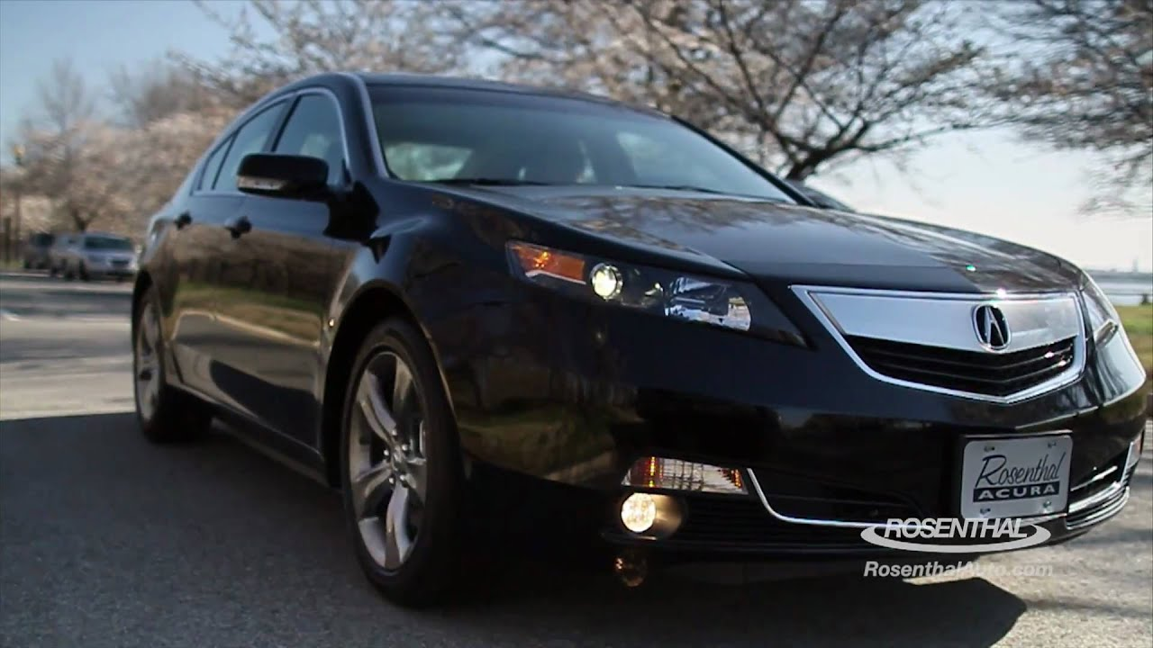 2014 Acura Tl 2012 Acura Tl Test Drive Review Youtube