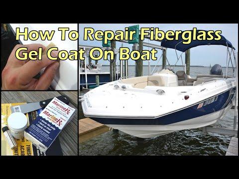 Repair Damaged Gel Coat On Boat