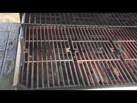How To Pressure Wash Your Grill - Clean Grill Grates Burners Cover
