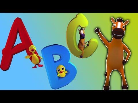 ABC morceau | 3D pour l'éducation Vidéo | De bande dessinée pour les enfants