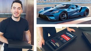 One of Jordan Maron's most viewed videos: Unboxing the Ford GT Ordering Kit