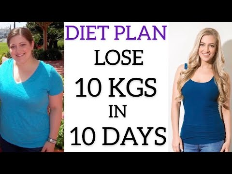 DIET PLAN TO LOSE WEIGHT FAST IN HINDI|LOSE 10 KGS IN 10 DAYS|ACT NATURAL DIY|