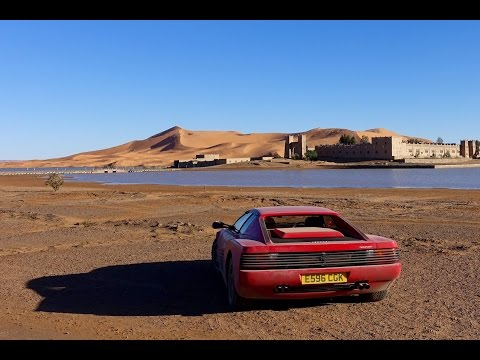 Ferrari Testarossa to the Sahara. 2000mile adventure to the Sahara desert