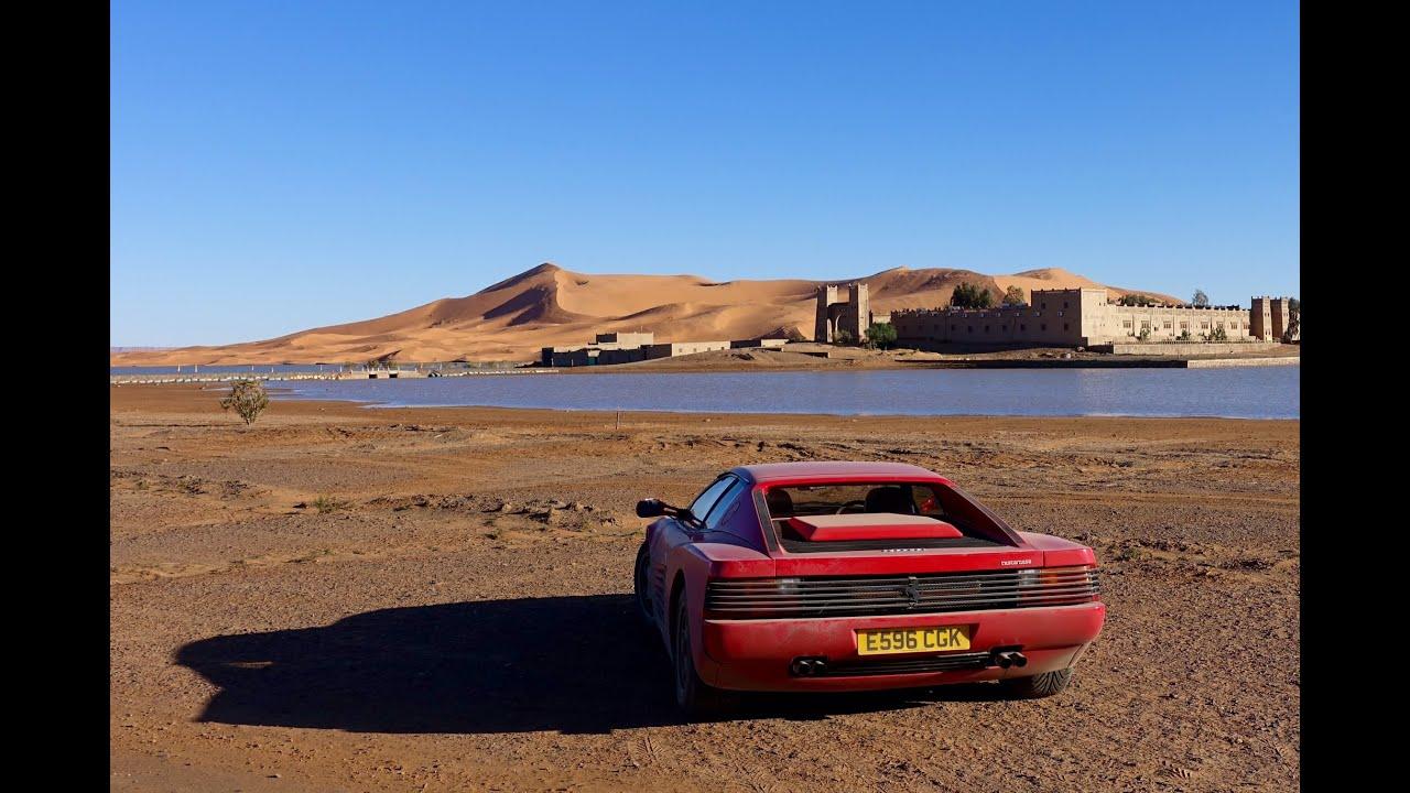 Ferrari Testarossa to the Sahara. 2000mile adventure to