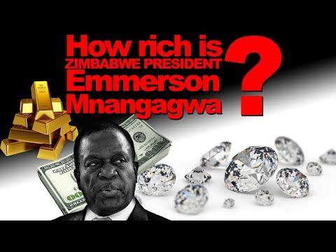 How rich is Zimbabwe President Emerson Mnangagwa