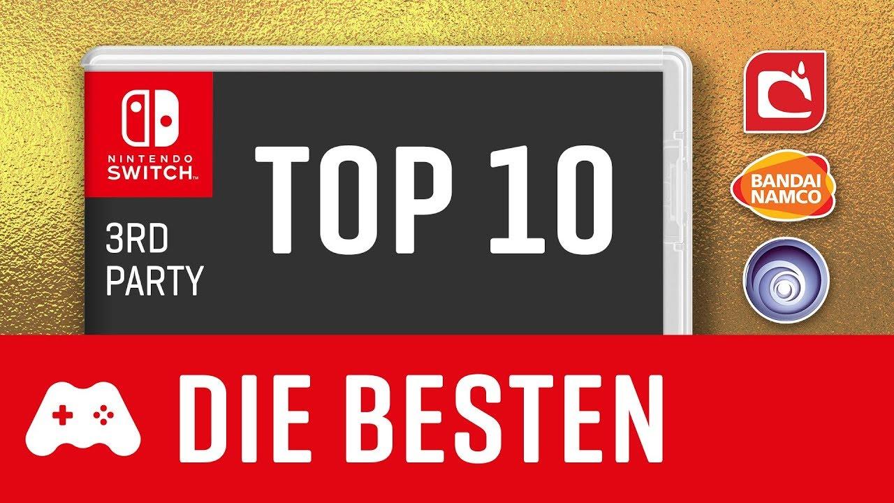 TOP 10 ► Die besten Switch Spiele - Nicht von Nintendo!