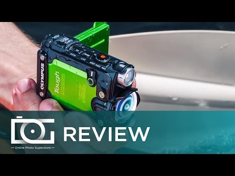 Underwater Camera Olympus TG Tracker | Action Camera | 4K Video Camera | Video Overview