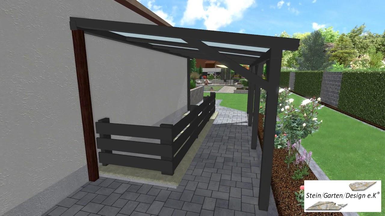 Stein Garten Design E K 3d Visualisierung