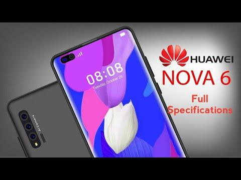 Huawei Nova 6 - 60MP Quad Cameras | Full Specifications | Technical Tips Boy