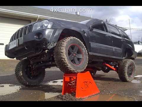 "Jeep Lift Kits >> Jeep Grand Cherokee WK 4"" Lift kits - YouTube"