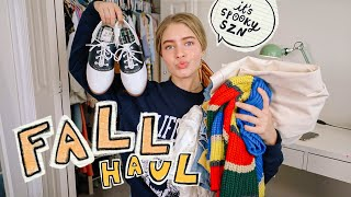 FALL CLOTHING HAUL (try-on) 2019