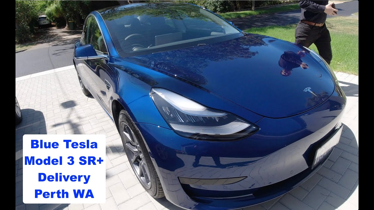 2020 Tesla Model 3 (Blue) Delivery Experience Perth ...