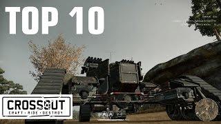 Crossout. Топ 10 крафтов недели. Top 10. #2
