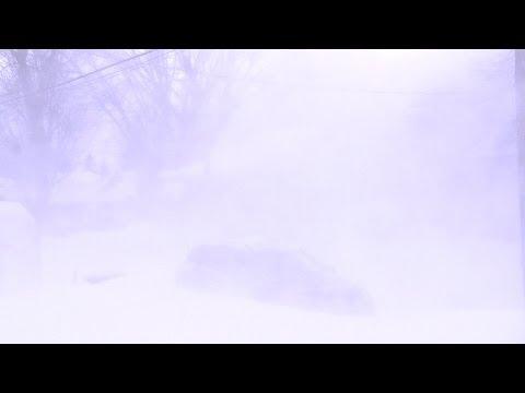 Poudrerie,Laval Québec avec vent de 90 km/h