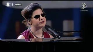 Cristina Afonso - My Baby Just Cares for Me (Nina Simone) | Gala | The Voice Portugal