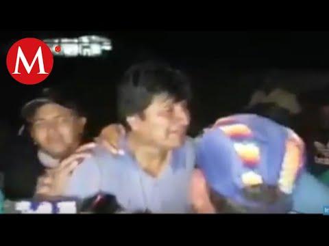 Así despidieron a Evo Morales ante su salida hacia México