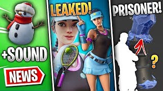 Fortnite News | New Volley Girl Skin, Prisoner Found, Sneaky Snowman v7.20, Join as Player & More