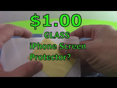 $1.00 GLASS iPhone Screen Protector?