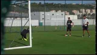 Entrainement des gardiens de l'OGC Nice du 21/07