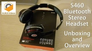 S460 Generic Bluetooth Stereo Headset | Unboxing, Quality Check and Overview