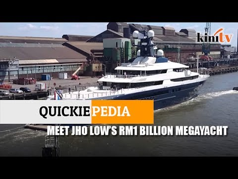 Quickiepedia: Meet Jho Low's RM1 billion mega-yacht