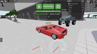 Roblox car crushers 2 let's play
