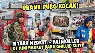 PRANK PUBG BELI MEDKIT SAMA PAINKILLER DI MINIMARKET! KOCAG ASLI!