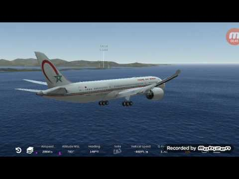 Infinite Flight Flight from TQPF ANGUILLA / WALLBLAKE TO TNCM ST MAARTEN PRINCESS JULIANA INT
