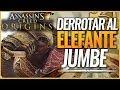 Assassin's Creed Origins | Como derrotar fácilmente al Elefante de Guerra Jumbe