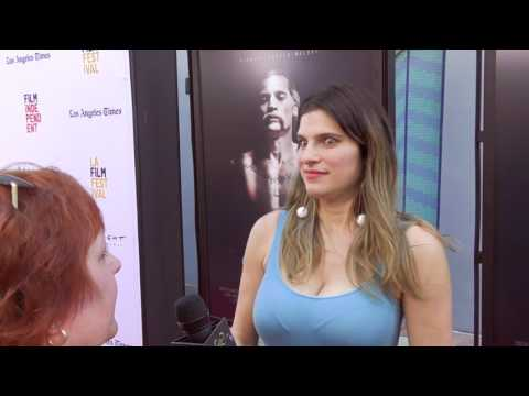 2017 Los Angeles Film Festival  Carpet Chat with Lake Bell