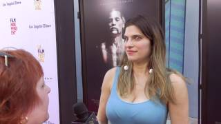 2017 Los Angeles Film Festival - Carpet Chat with Lake Bell