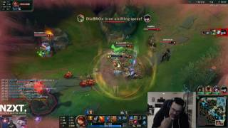 Most teams in solo Q will just gang bang bottom lane...   Youtube MirrorBot