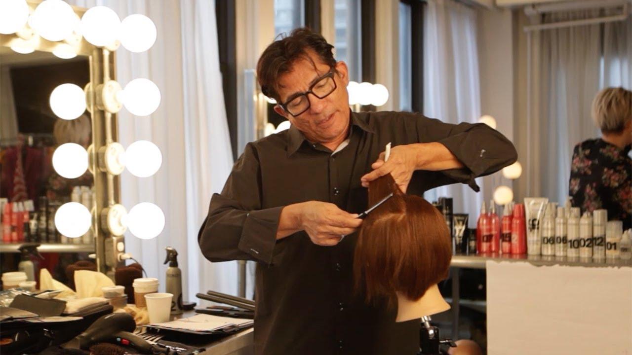 Sam Villa Razor Cutting How To Create Volume Texture In Fine Hair