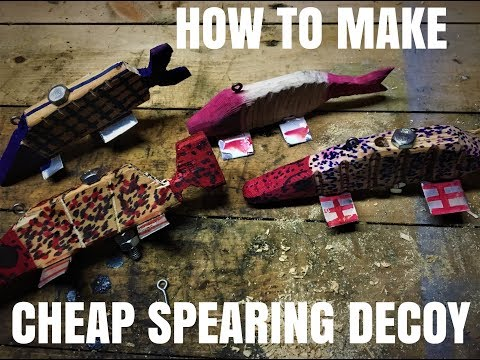 How To Make Spearing Decoy Easy And Fast