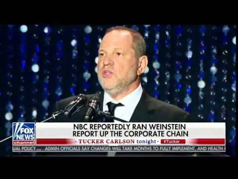 Tucker Carlson: NBC is LYING About Spiking Harvey Weinstein Bombshell