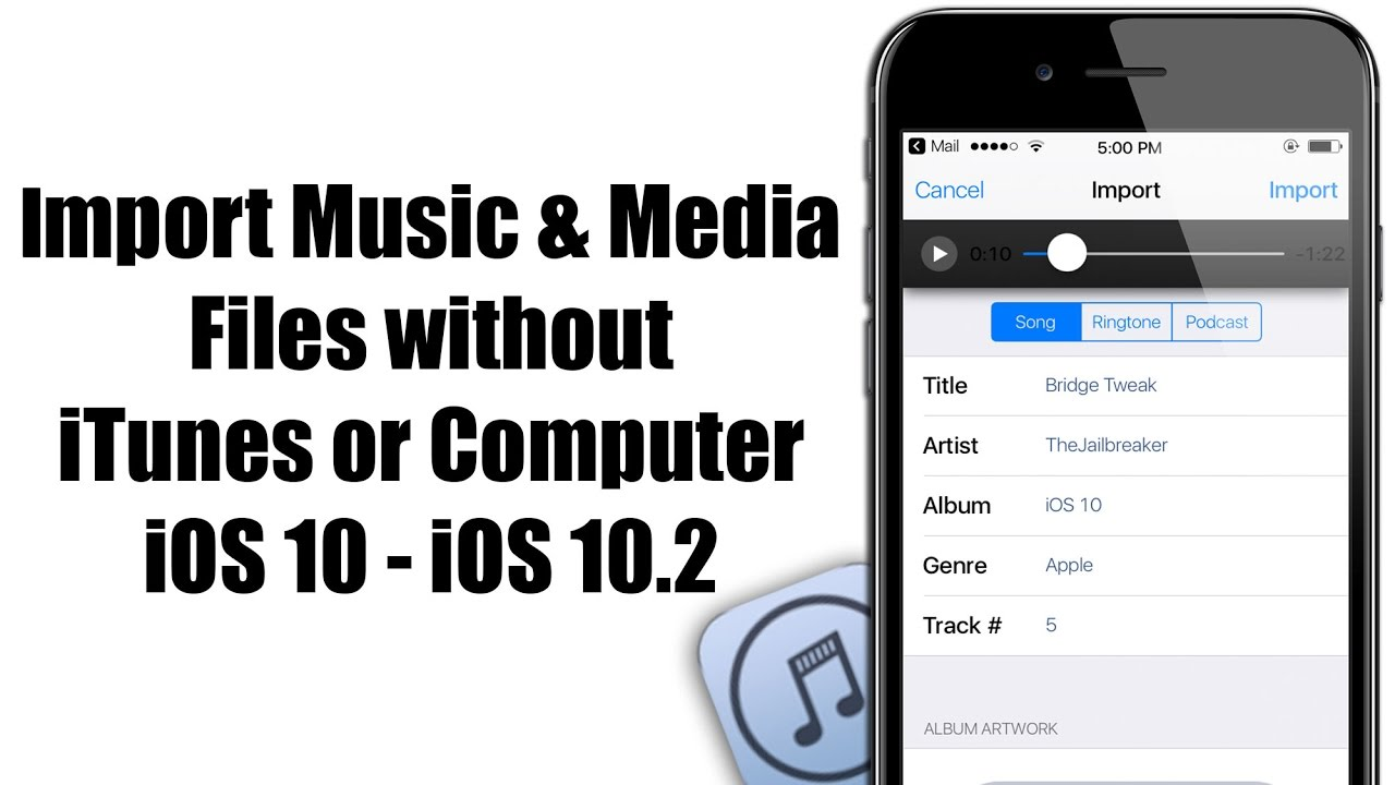 how to add music files to ipad without itunes