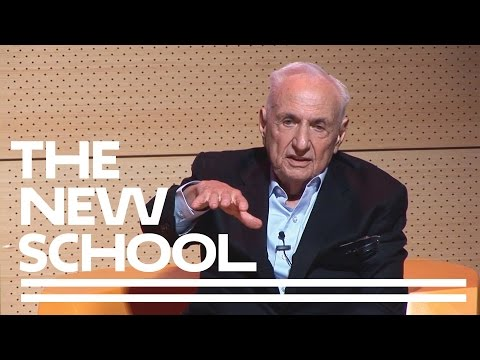 Frank Gehry on His Life and Work | The New School