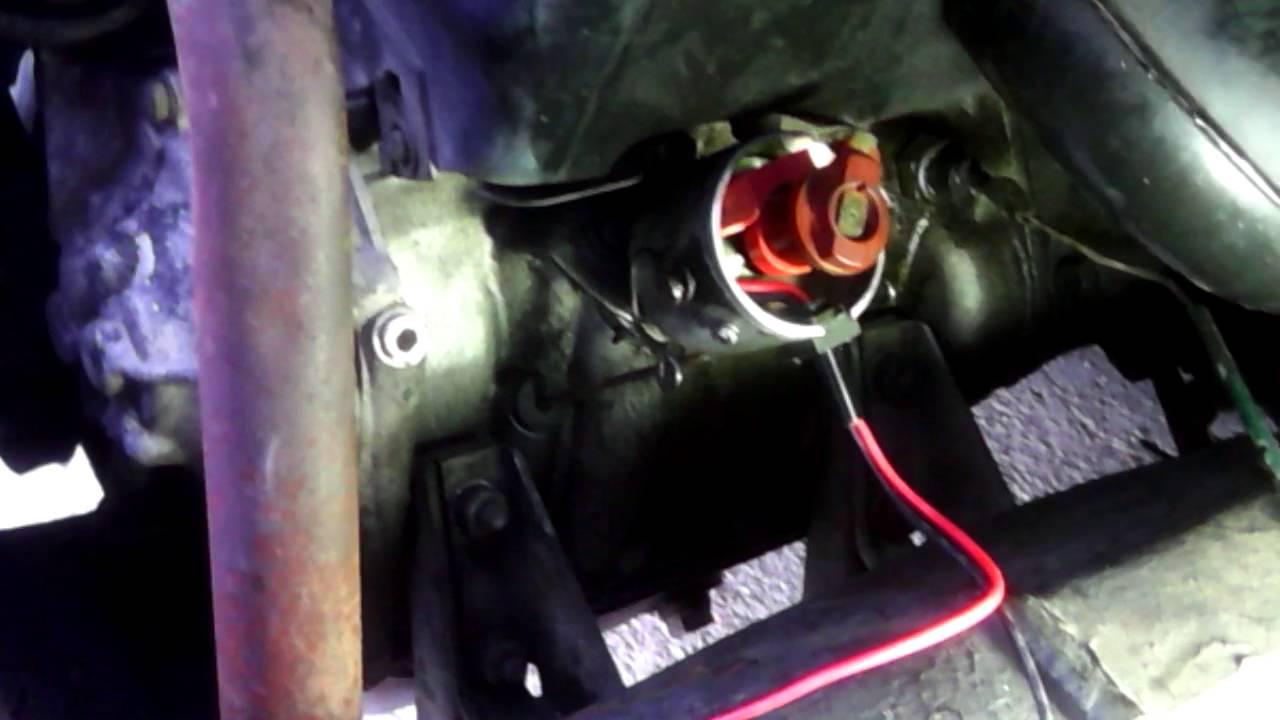 Schema Elettrico Per Accensione Elettronica Fiat 126 : Sostituzione punte condensatore con accensione 2 youtube