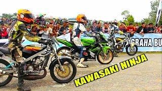 KAWASAKI NINJA VS RX KING  17  Februari 2019 Road Race MANNA ROAD RACE Padang panjang