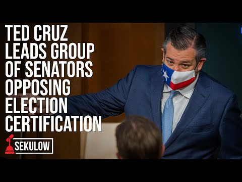 Ted Cruz Leads Group of Senators Opposing Election Certification