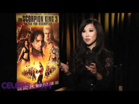 The Scorpion King's Selina Lo interview - a Celebs.com Original