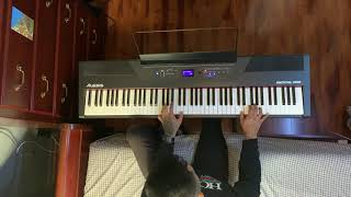 Lost In The Fire Piano Cover The Weeknd & Gesaffelstein