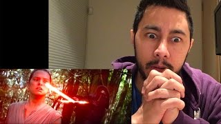 Star Wars The Force Awakens International Trailer REACTION!