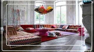 Пэчворк в интерьере – красочные узоры захватили весной не только текстиль