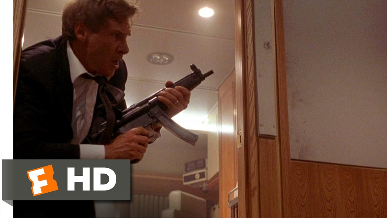 Air Force One 2 8 Movie Clip The President Is Armed