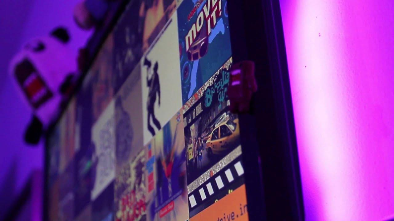 philips friends of hue demo bloom led strip youtube. Black Bedroom Furniture Sets. Home Design Ideas
