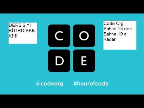 code org ders2 yi BİTİRDİKK! sahne 13 den sahne 19 ya kadar çözümleri #3