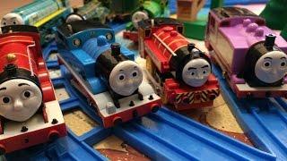 【juguetes de trenes 】 Thomas y sus amigos (00250 es)