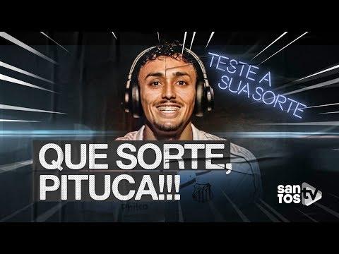 TENHA A SORTE DO PITUCA: SE DECLARE SANTISTA NO PREMIERE!